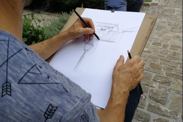 disegna con artista jesi