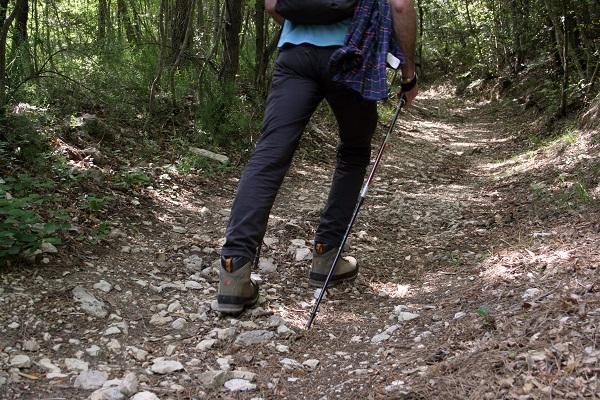sentiero del vernino