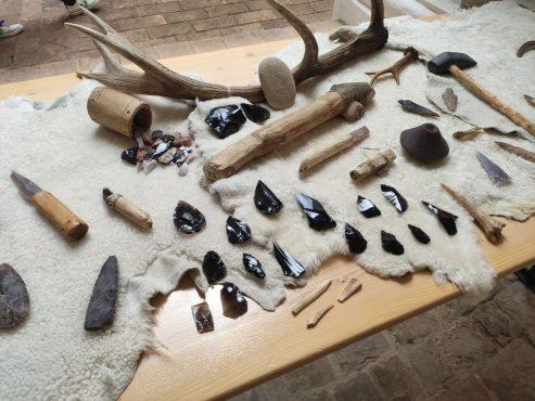 Banchetto didattico - archeologo sperimentale