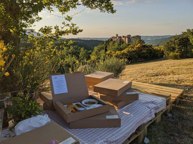 Tramonti di gusto -box picnic